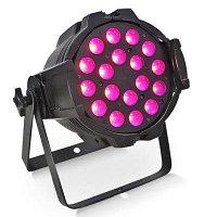 Световой прибор LED PAR LIGHT 18*10W RGBW (4 В 1)