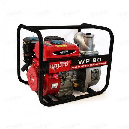 Мотопомпа бензиновая ALTECO WP80, фото 2