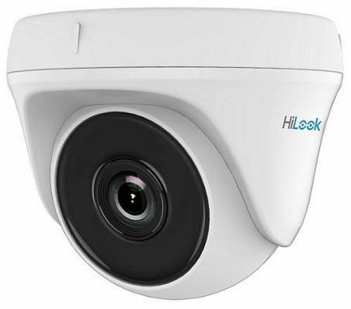 THC-T110-P - 1MP Внутренняя купольная камера EXIR* ИК-подсветкой, исполнение - ударопрочный пластик.