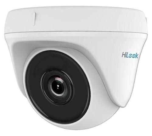 THC-T220-P - 2MP Внутренняя купольная камера EXIR* ИК-подсветкой, исполнение - ударопрочный пластик.