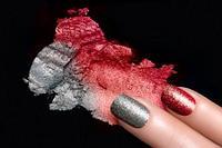 Блеск для дизайна ногтей. Глиттер