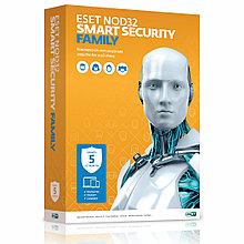 ESET NOD32 Smart Security Family 5 ПК / 12 мес.