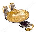 Икорница Краб. Ручная работа, золото, никель, фото 3