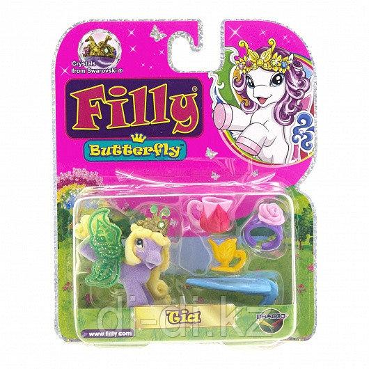FILLY Игровой Набор бабочки с блестками в блистере 1 фигурка с аксессуарами