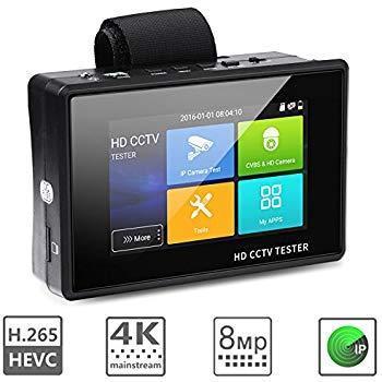 Видео тестер (сервисный монитор)  IP камер AVT IPTEST 04 PLUS, фото 2
