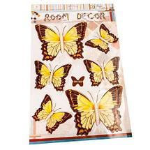 Наклейки 3D для украшения интерьера «Бабочки» (GW-007), фото 2