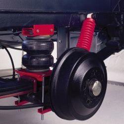 Пневматическая подвеска грузового автомобиля
