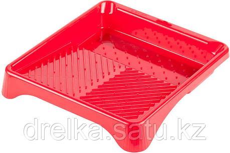 Ванночка ЗУБР малярная пластмассовая, для валиков до 210 мм, 280х300мм, 0,6 л, фото 2