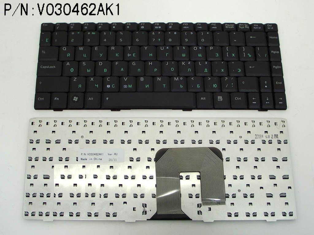 Клавиатура для ноутбука Asus F9, RU, черная