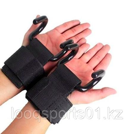 Крюки на руки для турника и тяги - фото 1