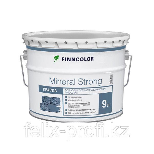 Фасадная водно-дисперсионная краска Mineral strong 18л