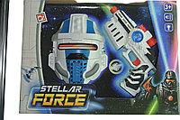 Игровой набор Галактический солдат Stellar Force Galactic Blaster Space Mask Оружие с маской, фото 1