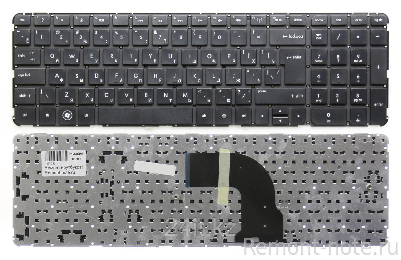 Клавиатура для ноутбука HP Pavilion DV7-7000, RU, рамка, черная