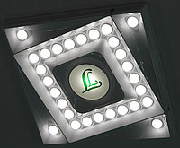 Светильник потолочный встраиваемый LL-ДВО-01-033-3214-30Д (033Вт)