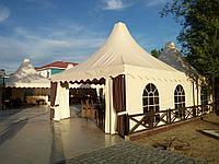Изготовление тентов и шатров для кафе, фото 1