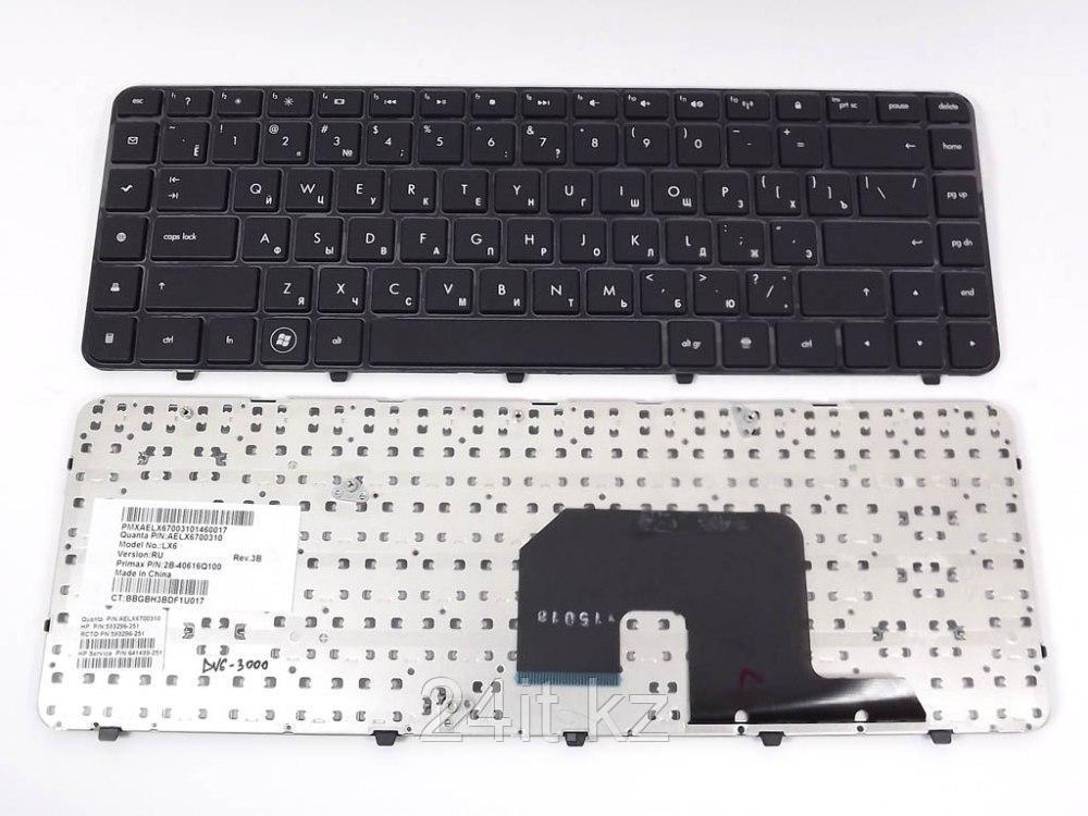 Клавиатура для ноутбука HP Pavilion DV6-3000, RU, черная