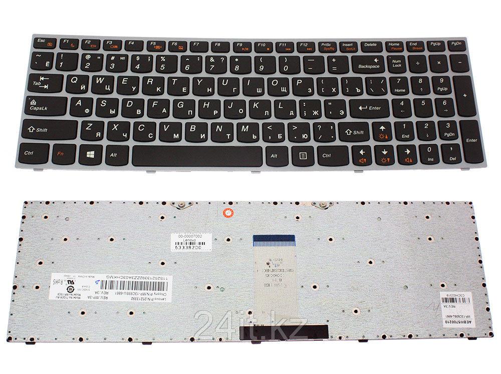 Клавиатура для ноутбука Lenovo IdeaPad B5400/ M5400, RU, рамка, черная
