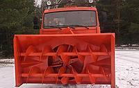 Снегоочиститель фрезерно-роторный на базе Камаз-43118