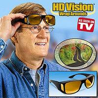 Очки-маска водителя для защиты днем и ночью HD Vision WrapArounds