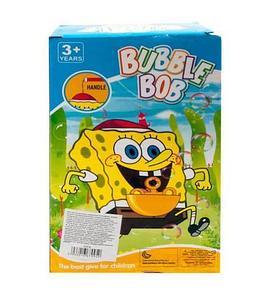 Игрушка, выдувающая мыльные пузыри, с музыкой Bubble Bob 0351B