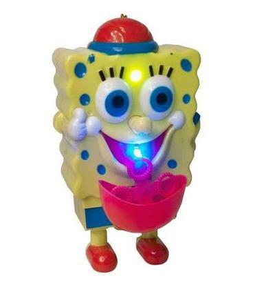 Игрушка, выдувающая мыльные пузыри, с музыкой Bubble Bob 0351B, фото 2