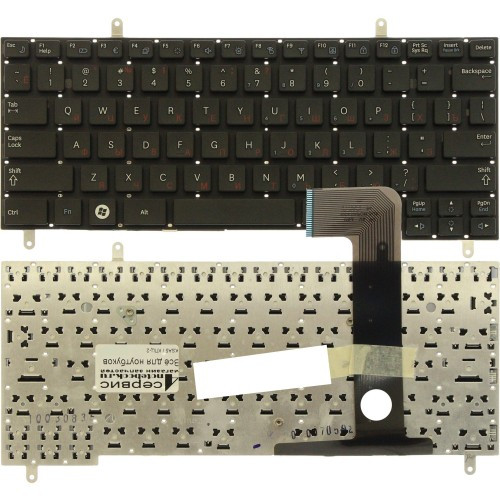 Клавиатура для ноутбука Samsung N220/ N210, RU, черная