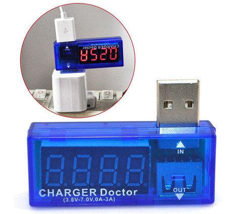 Тестер USB-зарядки CHARGER Doctor, фото 2