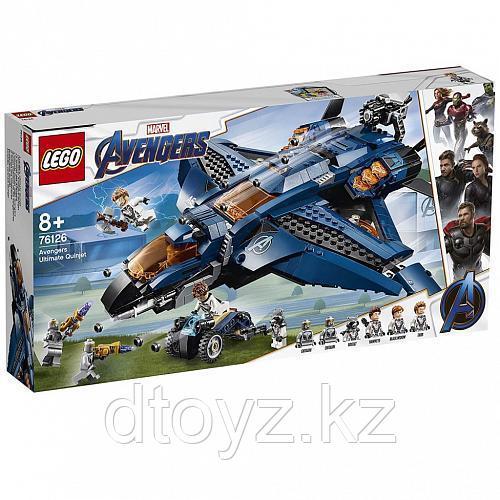 Lego Super Heroes 76126 Модернизированный квинджет Мстителей, Лего Супергерои Marvel