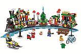 Конструктор Bela 11094 Новогодний экспресс аналог LEGO Creator 10254 Рождественский поезд, фото 2