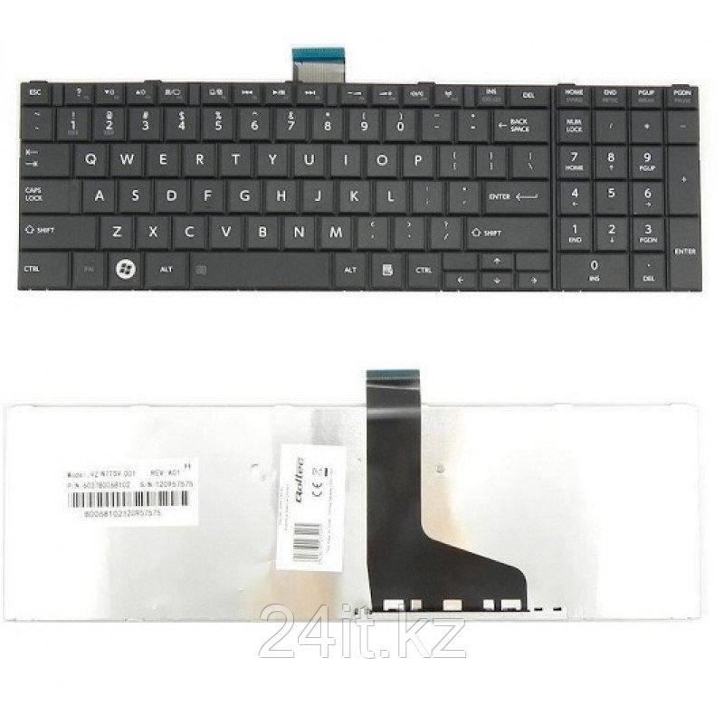 Клавиатура для ноутбука Toshiba Satellite C850, RU, черная