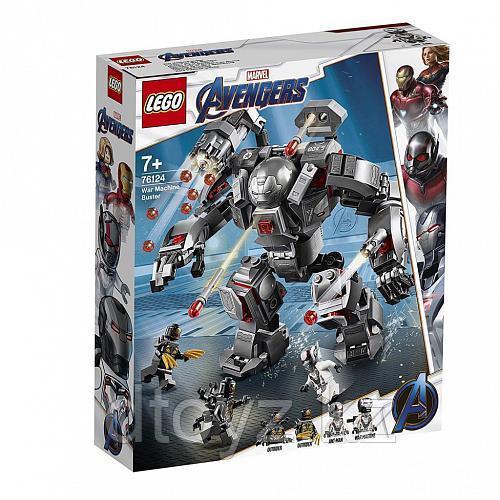 Lego Super Heroes 76124 Воитель, Лего Супергерои Marvel