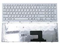 Клавиатура для ноутбука Sony VPC-EE, белая