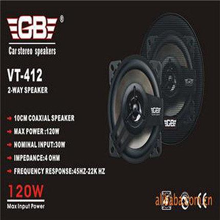 Колонки автомобильные GB VT-412/512/612 (VT-412), фото 2