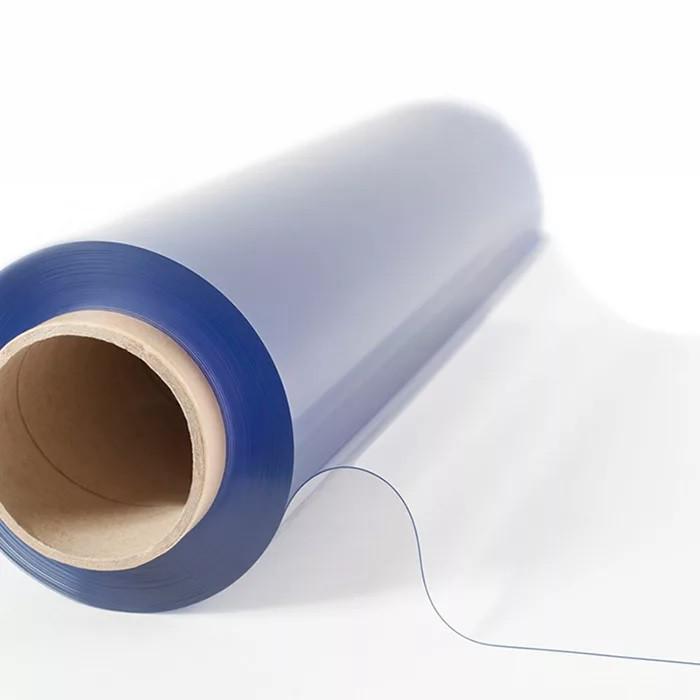 Прозрачная PVC пленка 1,4мХ50м 0,5мм МЕТР