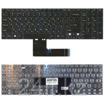 Клавиатура для ноутбука Sony SVF 15, RU, черная