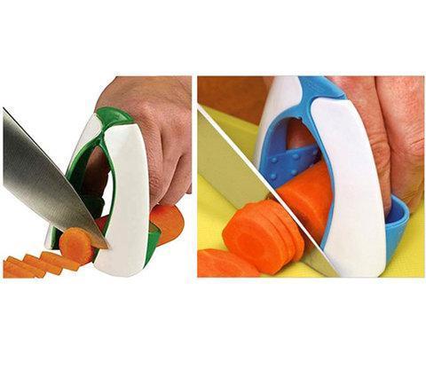 Приспособление для безопасной нарезки овощей SAFE SLICE, фото 2