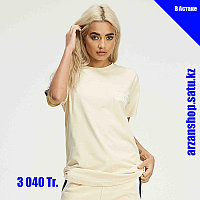 Женская футболка 304 бежевая, фото 1