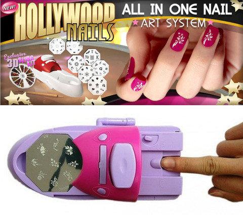 Принтер-штамп для дизайна ногтей Hollywood Nails, фото 2