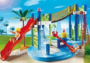 Playmobil констурктор для детей «Аквапарк. Игровая площадка»
