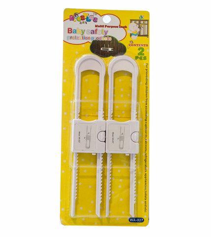 Блокиратор для дверей мебели U-образный R.BEETLES WA-027 [2 шт.]
