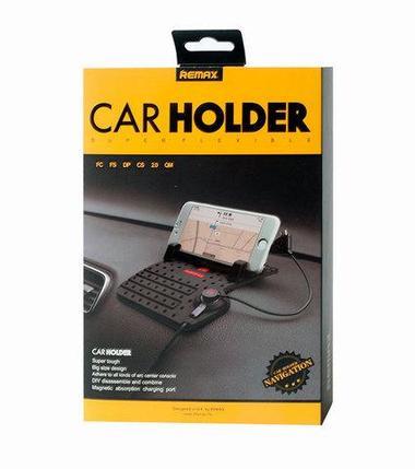 Держатель-коврик для телефонов и планшетов с USB-зарядкой, фото 2