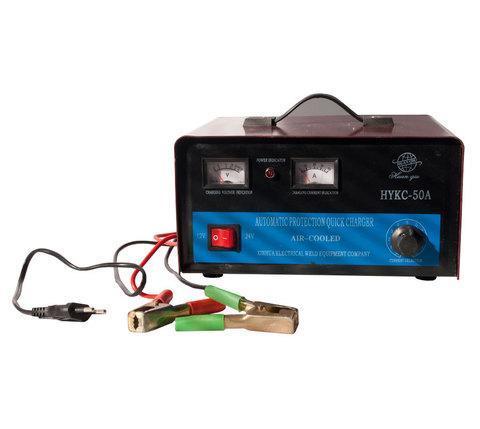 Зарядное устройство для автомобильных аккумуляторов HUAN QIU HYKC-50A, фото 2