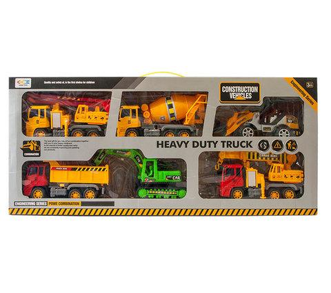 Набор игрушечных строительных машин LEXIN TOYS 6288-6 [6 шт.]