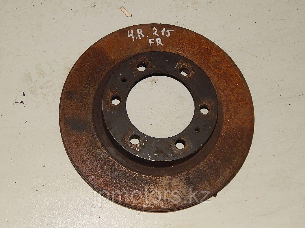 Диск тормозной передний 4.7 (r-l) toyota 4runner 215 2003-2009
