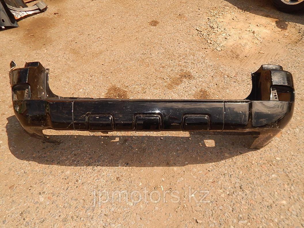 Бампер задний (черный с повреждением) toyota 4runner 215 2005-2009