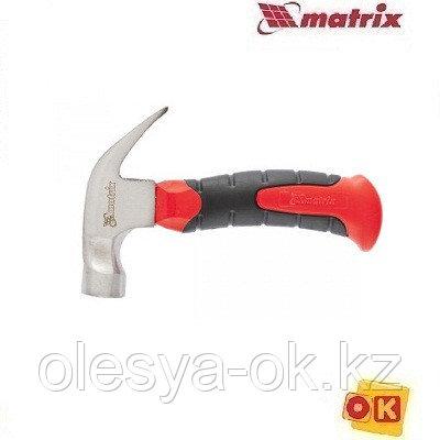 Молоток-гвоздодер мини 250 г,  MATRIX