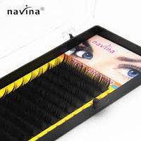 Шелковые ресницы для наращивания NAVINA