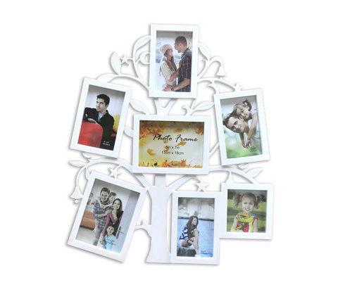 Фоторамка составная «Древо жизни» [7 фото] (Белый), фото 2