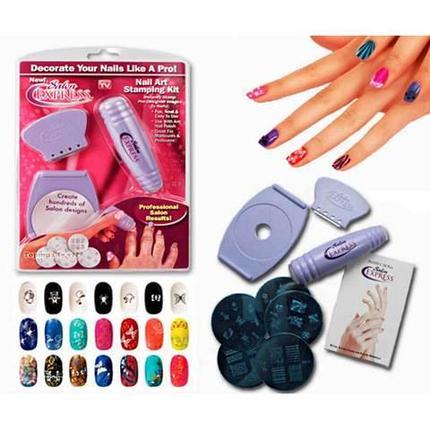 Набор для дизайна ногтей Salon Express, фото 2