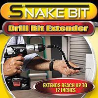 Гибкий удлинитель для отвертки и дрели Snake Bit